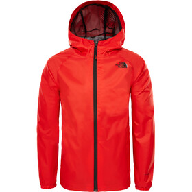 The North Face Zipline Rain Jacket Boys fiery red